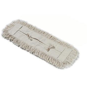 Carlisle 364733600 - Cotton Tie Back Dust Mop, 36-in Oblong, Tan
