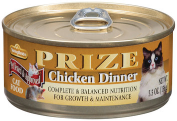 Springfield Prize Chicken Dinner Cat Food 5.5 Oz Pull-Top Can