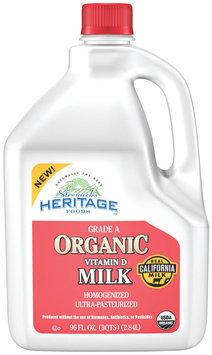 Stremicks Heritage Foods® Organic Vitamin D Milk 96 fl. oz. Jug