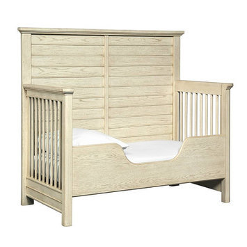 Stanley Driftwood Park Built-to-Grow Toddler Bed Kit Finish: Vanilla Oak