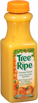 Tree Ripe® Natural 100% Orange Juice 13.5 fl. oz. Bottle