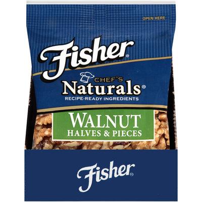 Fisher® Chef's Naturals® Walnut Halves & Pieces 2 oz. Bag