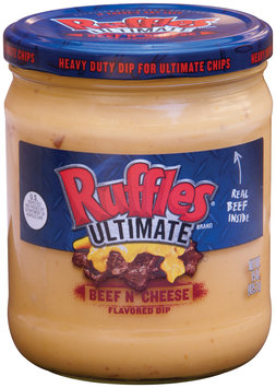 Ruffles® Brand Ultimate Beef N' Cheese Flavored Dip 15 oz. Jar