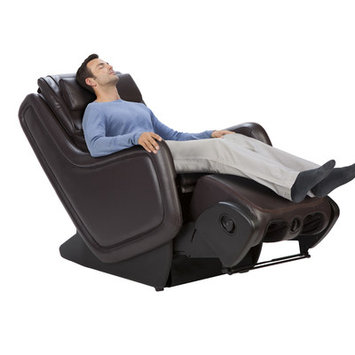 Sharper Image ZeroG 4.0 Immersion Seating Upholstery: Espresso SofHyde