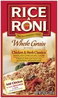 Rice-A-Roni Chicken & Herb Classico Whole Grain Blends 3.8 Oz Box