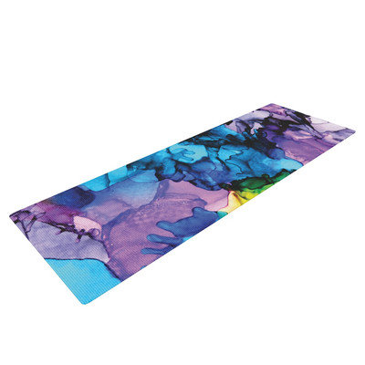 Kess Inhouse Mermaids by Claire Day Yoga Mat