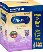 Enfamil® Gentlease® for Fussiness, Gas & Crying Ready to Use Milk-Based with Iron Infant Formula 4-8 fl. oz. Bottles