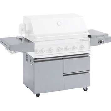 Barbeques Galore Grand Turbo Stainless Steel Cart