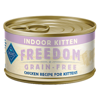 THE BLUE BUFFALO CO. BLUE™ Freedom® Grain-Free Indoor Chicken Recipe For Kittens