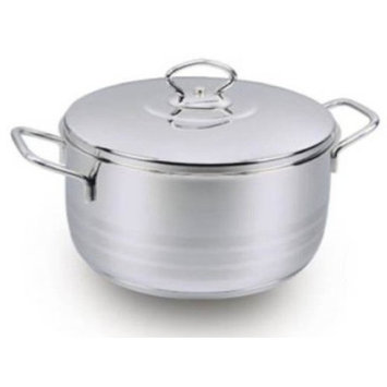 YBMHome A1908 Stockpot With Lid 8.75 Quart