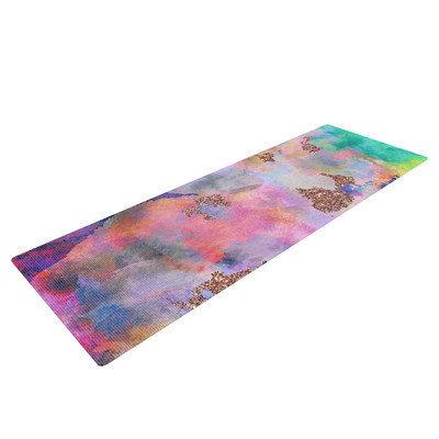 Kess Inhouse Sparkle Mist by Nikki Strange Yoga Mat