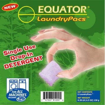 Equator LaundryPac Detergent Capacity: Travel Case 360