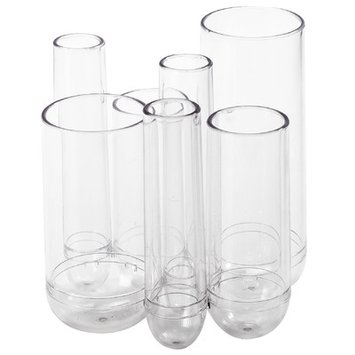 Taylor Gifts Umbra Clear Acrylic Tube Organizer Set