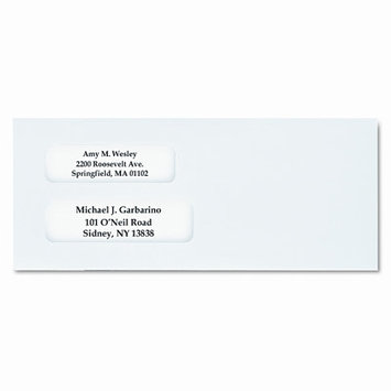 Columbian Envelope WEVCO132 GripSeal Envelopes No. 10 4.13in. x9.50in. White
