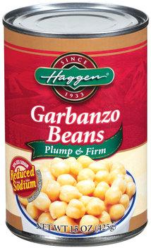 Haggen Reduced Sodium Garbanzo Beans 15 Oz Can