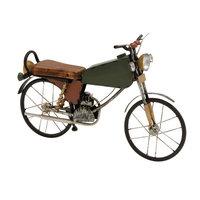 Benzara 92668 Metal Wood Motorcycle