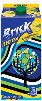 Brisk® Lemon Iced Tea 59 fl. oz. Carton