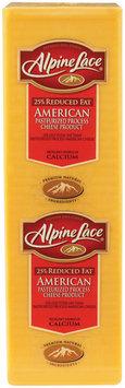 Alpine Lace® American Reduced Fat Yellow Deli Cheese 1 Ct Brick