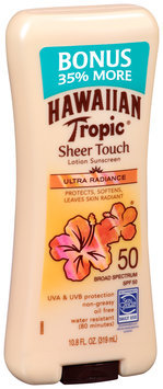 Hawaiian Tropic® Sheer Touch Ultra Radiance Broad Spectrum SPF 50 Lotion Sunscreen
