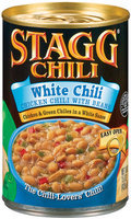STAGG CHILI White Chicken W/Beans Chili 15 OZ CAN
