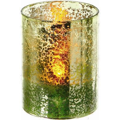 Regency International LED Glass Candle (Set of 4) Size: 3