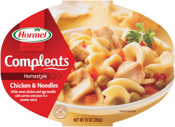 HORMEL Homestyle Chicken & Noodles Compleats 10 OZ MICROWAVE BOWL