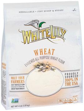 White Lily® Enriched All Purpose Wheat Flour 4 lb. Bag