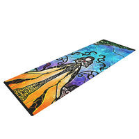 Kess Inhouse One Little Bite by Mandie Manzano Yoga Mat