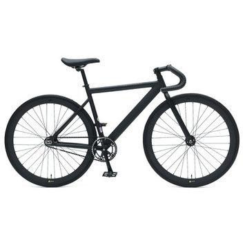 Ideacycle C8 Aero Fixed Gear Road Bike Size: 48cm, Color: Black