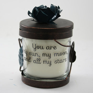 Fetco Home Decor Enno You Are My Sun Moon Jar Candle