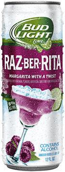 Bud Light® Raz-Ber-Rita 12 fl oz