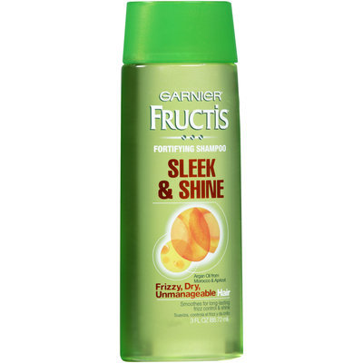 FRUCTIS® Sleek & Shine Shampoo For Frizzy, Dry, Unmanageable Hair