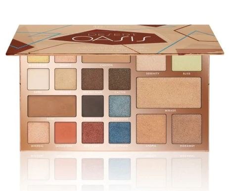 bh cosmetics® Desert Oasis 19 Color Shadow And Highlighter Palette