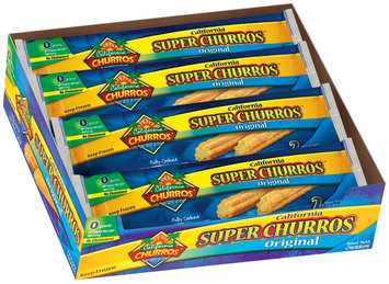 California Churros Super Original 2 Pack Churros 4.2 Oz Wrapper