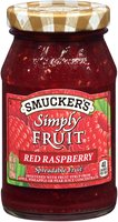Smucker's® Simply Fruit® Red Raspberry Spreadable Fruit 10 oz. Jar