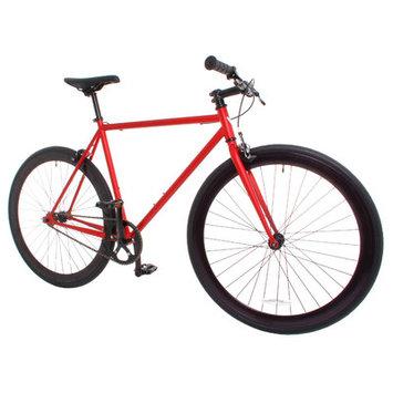 Vilano Rampage Fixed Gear Bike Fixie Single Speed Road Bike Matte Red Large 58cm