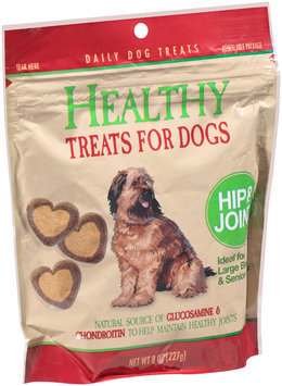 Healthy Hip & Joint Dog Treats 8 oz. Pouch