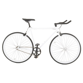 Vilano EDGE Fixed Gear /Single Speed Road Bike White 58cm