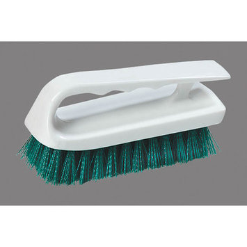 Carlisle 4002409 - Bake Pan Lip Brush w/ 6-in Handle & Green Polyester