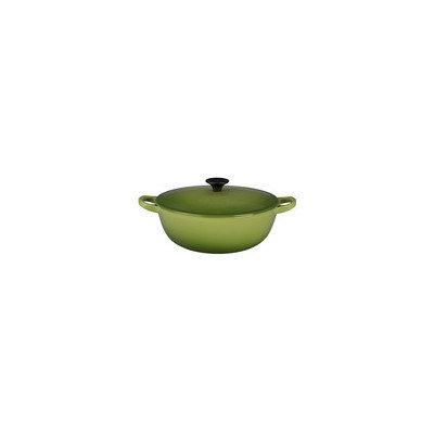 Le Creuset Cast Iron Soup Pot with Lid Color: Palm, Size: 2.75