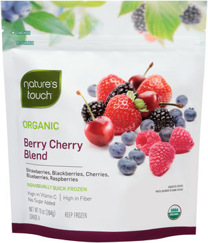 Nature's Touch™ Organic Berry Cherry Blend 10 oz. Stand-Up Bag