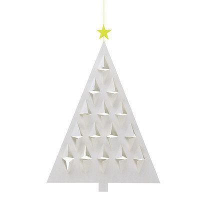 Flensted Mobiles Prism Tree Mobile Color: White