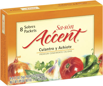 Accent Coriander & Annatto .17 Oz Packets Seasoning 8 Ct Box