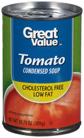 Great Value Reduced Sodium Tomato Condensed Soup, 10.75 oz