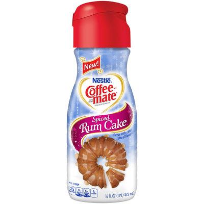 COFFEE-MATE Spiced Rum Cake Liquid Coffee Creamer 16 fl. oz. Plastic Bottle