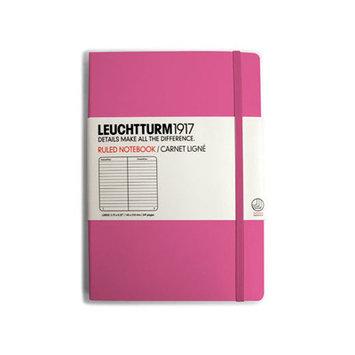 Kikkerland Hard Cover Pocket Ruled Notebook Color: Pink