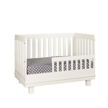 Capretti Design Liscio Toddler and Full Size Bed Conversion Kit Finish: Snowdrift
