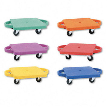 Champion Sports 12 Inch Plastic Scooter - Set of 6