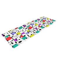 Kess Inhouse My Happy Squares by Julia Grifol Yoga Mat