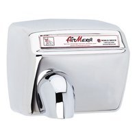 World Dryer AirMax Heavy Duty Hand Dryer Finish: Polished Stainless Steel, Voltage: 110-120 V